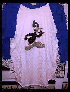 Vintage 80s Daddy Duck Looney Tunes Shirt